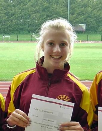 Heptathlete Harryman rises to number one after Corby win
