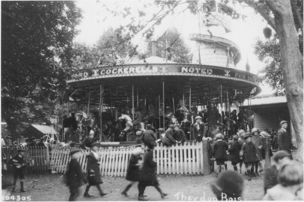 Yates Retreat carousel circa 1930 courtesy of Epping forest District Museum