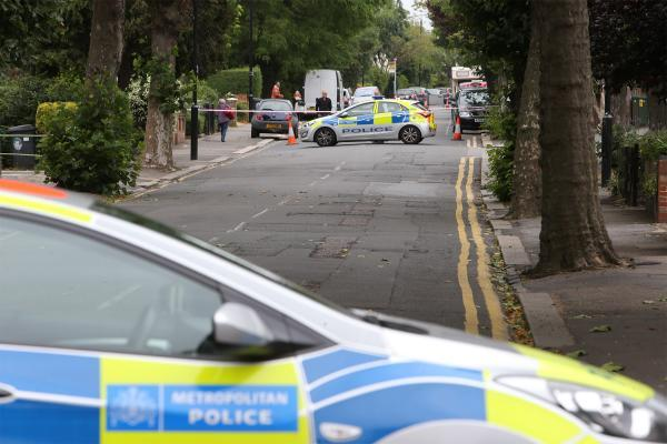 East London and West Essex Guardian Series: The road was cordoned off until 4pm yesterday