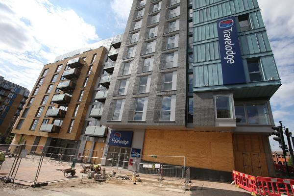 The Travelodge at Walthamstow Central