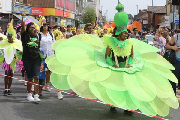 Carnival colours take over Leyton streets