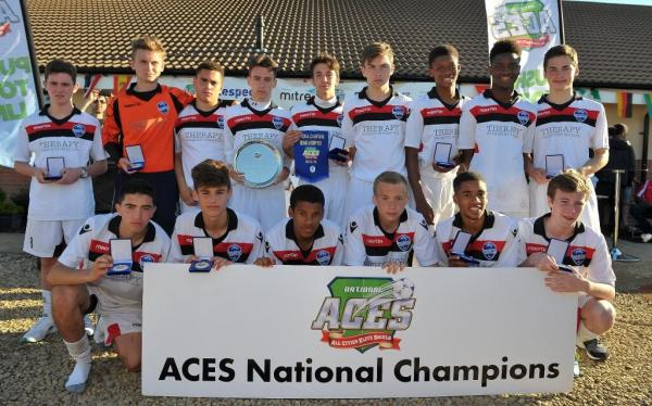 Buckhurst Hill FC Under-16s crowned National champions