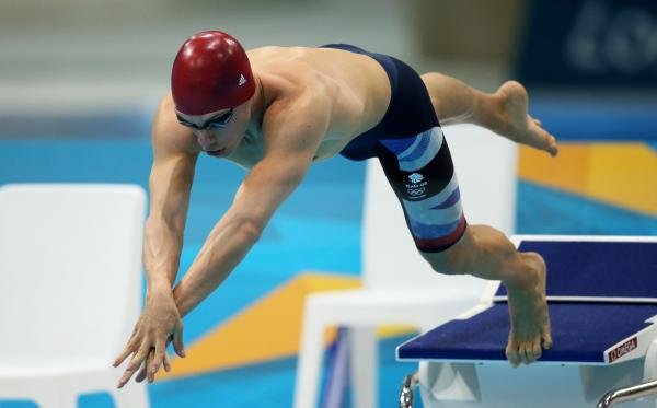 Dan Fogg competing at London 2012. Picture: Action Images