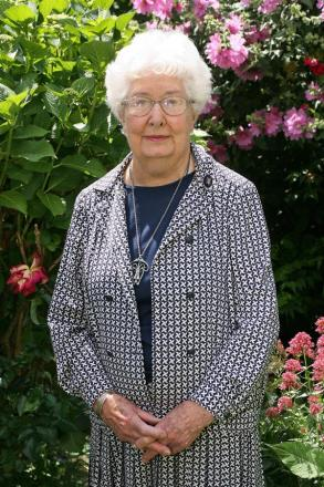 Vi Gostling was awarded an MBE for her services to the community in 2009