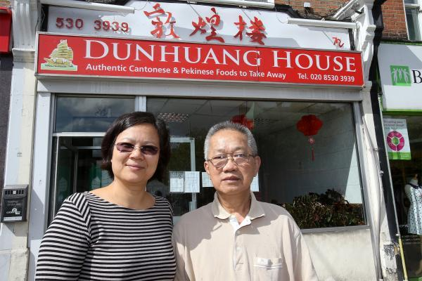 Owner Carol Man with head chef Ying Fook Wong.