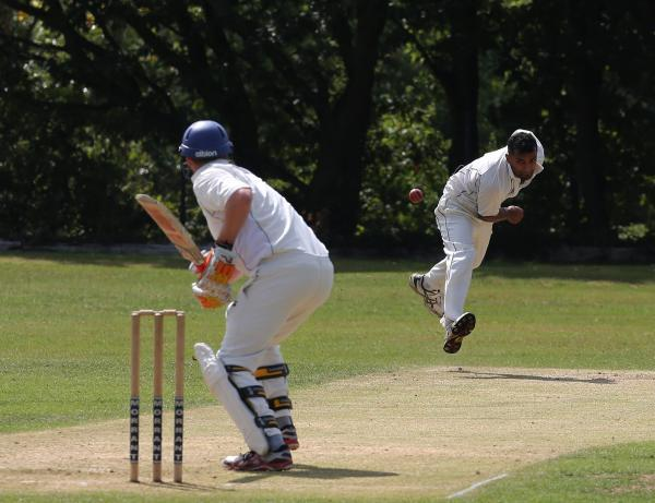 Wanstead and Snaresbrook take on Chelmsford (batting). Picture: Ken Mears