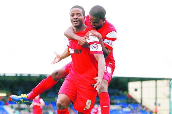 Kevin Lisbie will be pushing for a start after scoring as a substitute on Saturday: Simon O'Connor