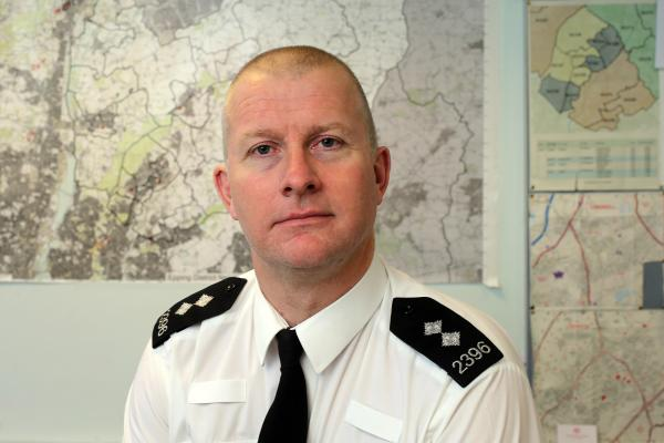 Neighbourhood Inspector Andy Fusher has welcomed the return to local supervision