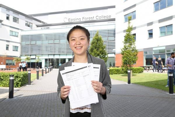 Kaifang Zhou with her results