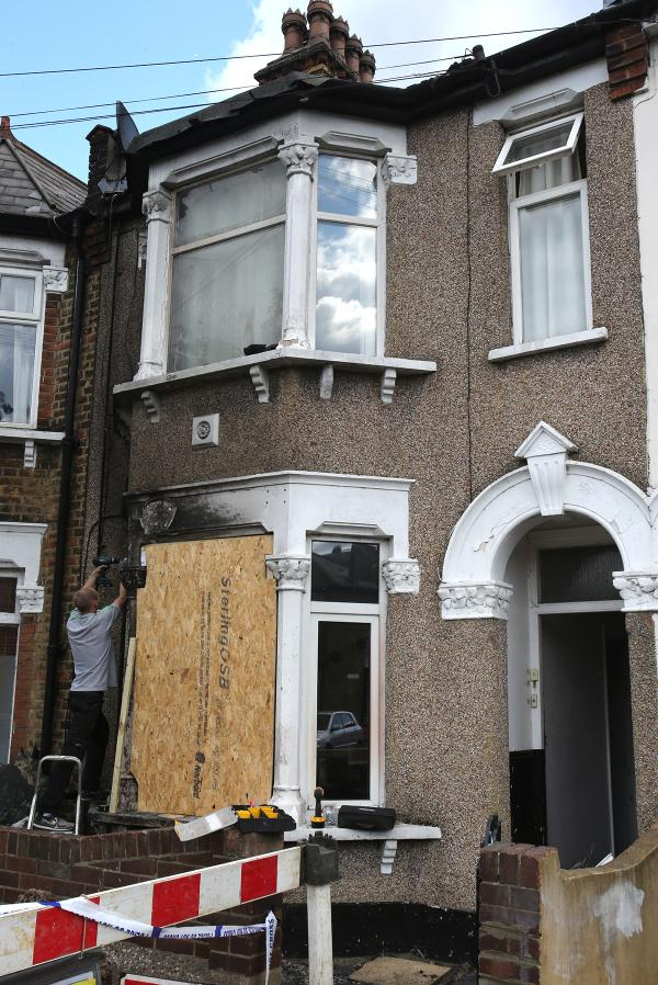 'Lucky escape' for pregnant woman rescued from flat fire