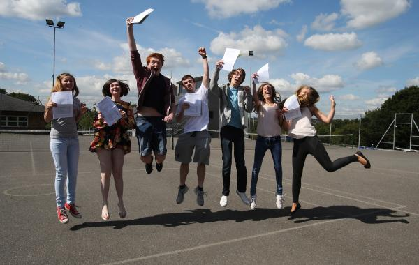GCSE results not affected by government changes