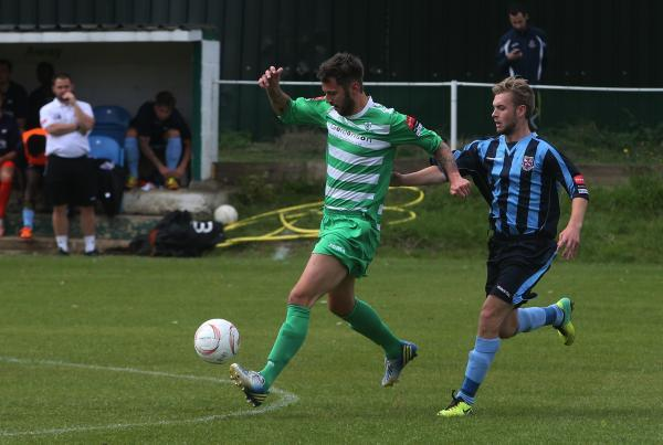 Waltham Abbey's game against Burnham Ramblers on Saturday was abandoned due to a serious injury. Picture: Ken Mears