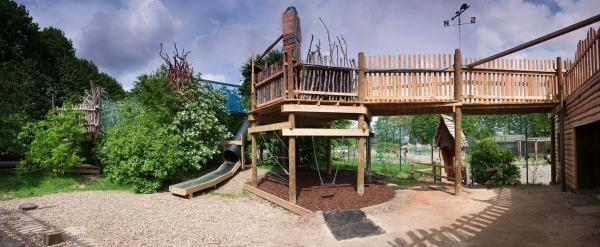 The all new Grow Wild space in the Lloyd Park Centre