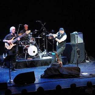 Jethro Tull performing at the Barbican in London in 2009