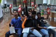 Students celebrate results at college