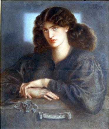Painting La Donna della Finestra by Dante Gabriel Rossetti in 1871 (credit: Bradford Museum and Gallery)