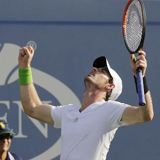 Andy Murray is happy with his form ahead of a US Open quarter-final against Novak Djoko