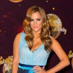 East London and West Essex Guardian Series: Caroline Flack attending the launch of Strictly Come Dancing 2014, at Elstree Studios, Borehamwood, Hertfordshire.
