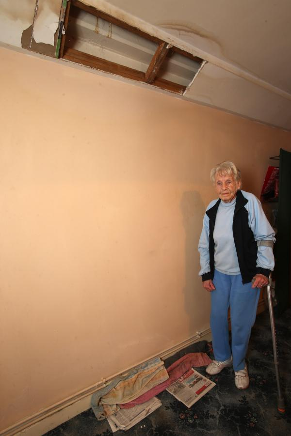 Elderly woman's home left damp despite four months of distress calls