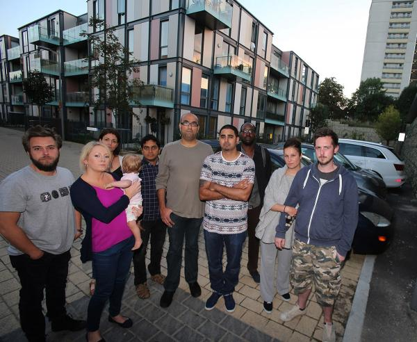 Parking 'mayhem' at Tesco housing development