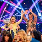 East London and West Essex Guardian Series: Caroline Flack and Pasha Kovalev have been crowned winners of Strictly Come Dancing (BBC/PA)
