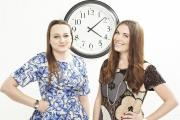 Founders Lesa Bennett and Jemma Fennings of Olivia Burton