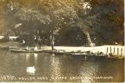 Picture of Hollow Pond between 1900 and 1910 (credit: Vestry House Museum)