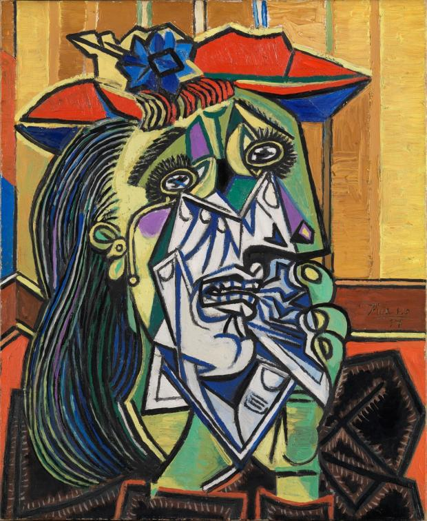 East London and West Essex Guardian Series: PICASSO: Weeping Woman  (20445001)