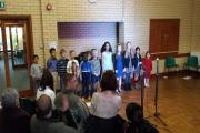 A recent performance by the Our Voices children's choir