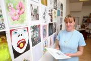 Lili Spain of Xylonite Arts has organised the Jumble Trail