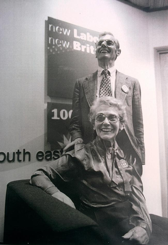 Garner and Vi Smith in Labour offices