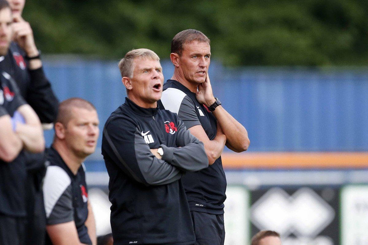 Ian Hendon's side eased to victory over Woking: Simon O'Connor