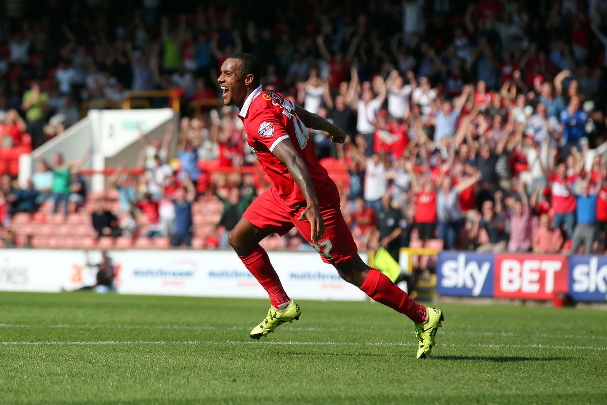 Jay Simpson fired Orient into an early lead: Simon O'Connor