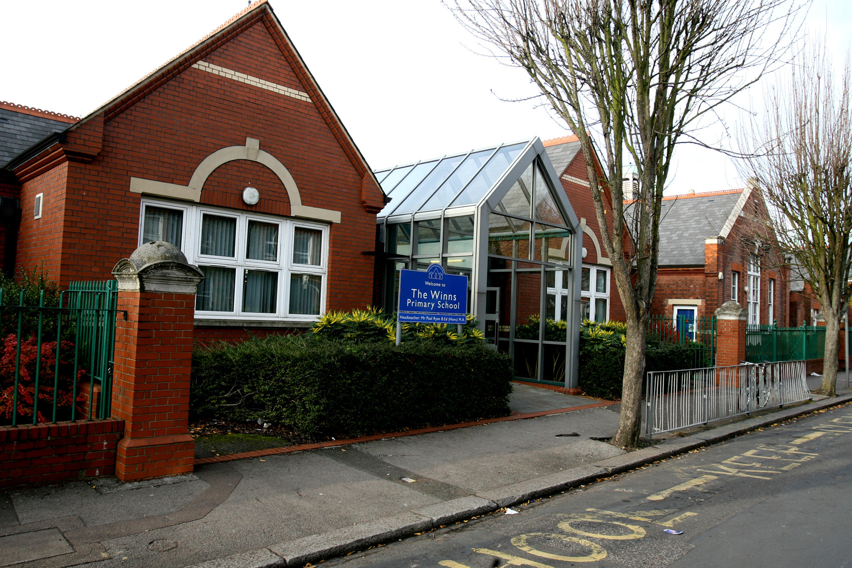 Winns Primary School in Fleeming Road, Walthamstow