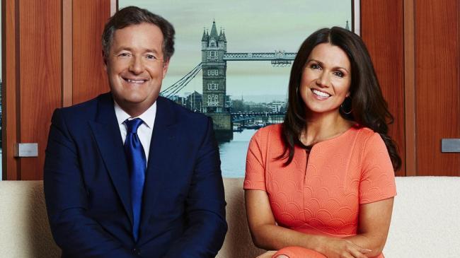 ITV's Piers Morgan and Susanna Reid make light of BBC Breakfast's