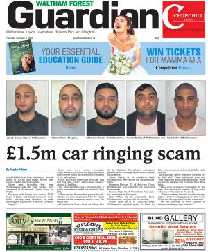 East London and West Essex Guardian Series: The latest edition of the Waltham Forest Guardian is out now available from newsagents and supermarkets.