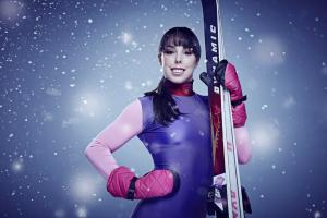 Beth Tweddle walking unaided after neck op following The Jump injury