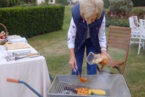 Does Mary Berry know what time of year it is? Twitter was very confused watching her BBQ - on a wheelbarrow