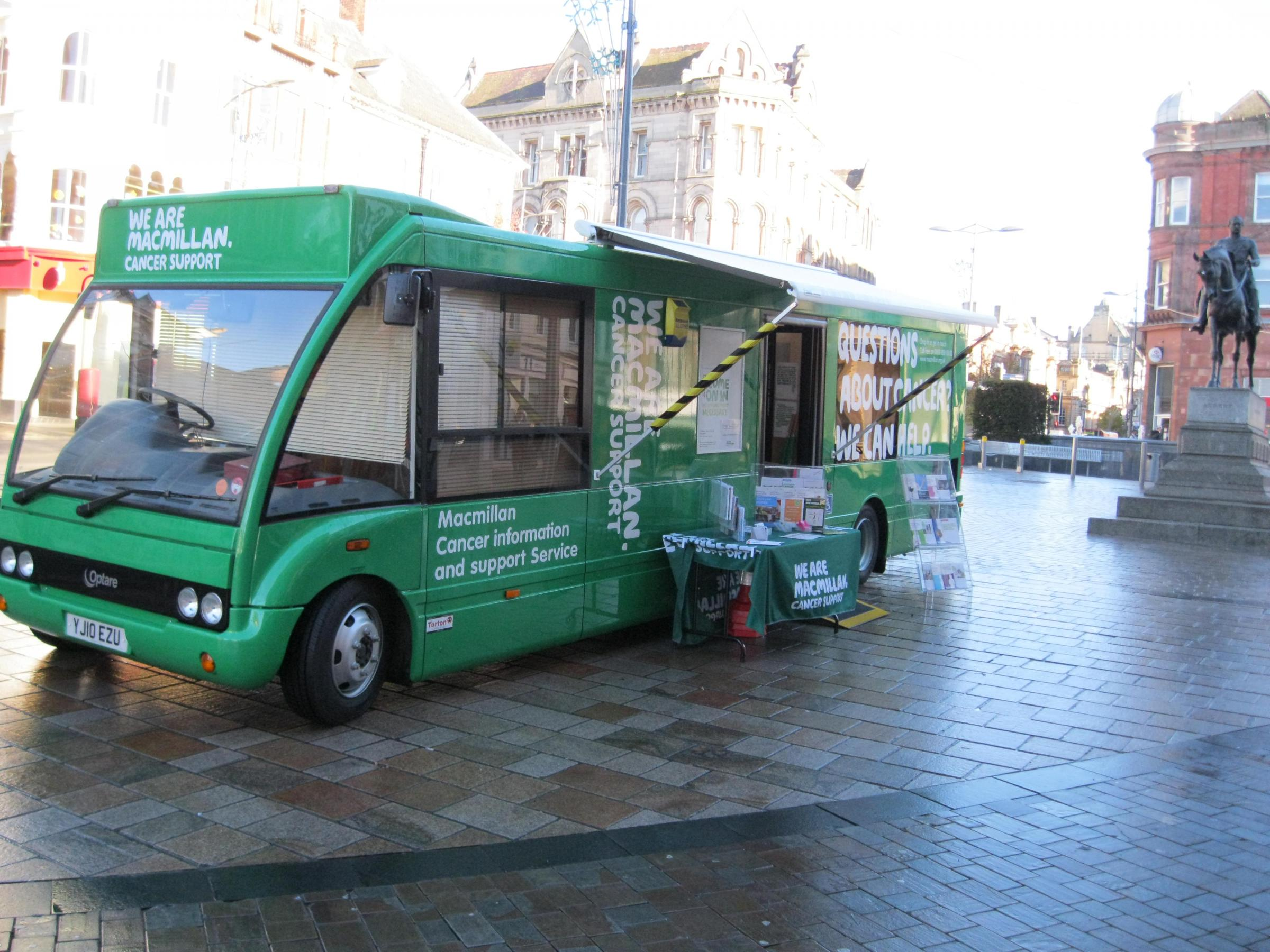Macmillan Cancer Support Information Service in Walthamstow