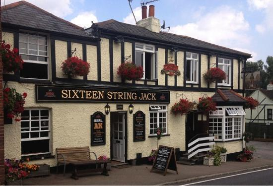 The Sixteen String Jack pub in Theydon Bois