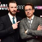 East London and West Essex Guardian Series: Robert Downey Jr and Chris Evans visit Avengers fan with cancer