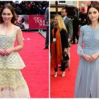 East London and West Essex Guardian Series: Emilia Clarke and Jenna Coleman turn on the glamour for the London premiere of Me Before You