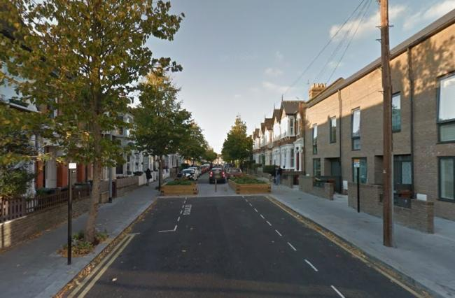 Police were called to Cleveland Park Avenue to reports of a flasher (pic: Google)