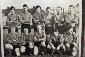 Rafarno FC on the Nutter Field in the early 1960s