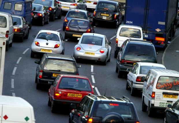Expect delays on the M25 in Essex and Hertfordshire this morning