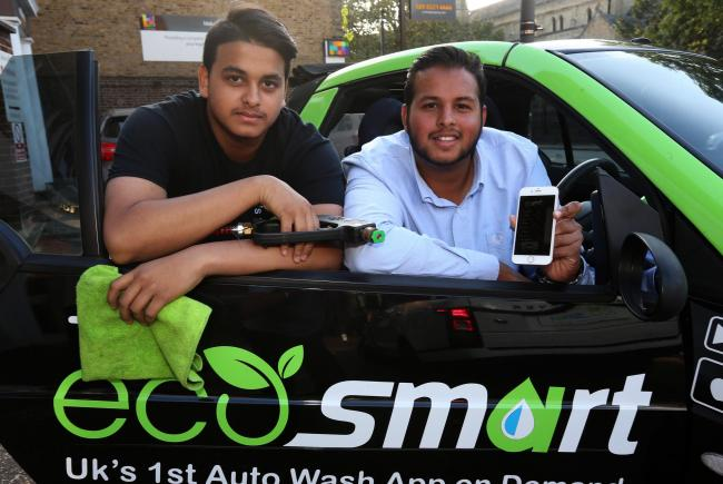 Leyton Brothers Launch On Demand Car Wash Service App Theecosmart