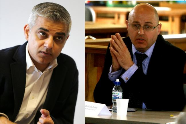 Redbridge Assembly Member Keith Prince hit out at Mayor Sadiq Khan yesterday over 'unfair' Thames crossing charges for east Londoners.