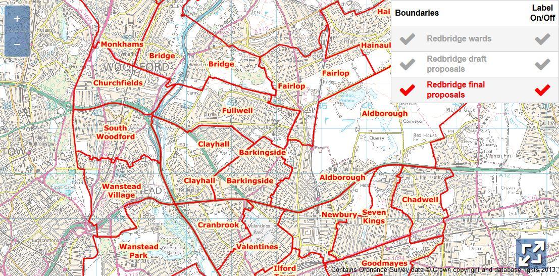 London borough redbridge boundaries in dating