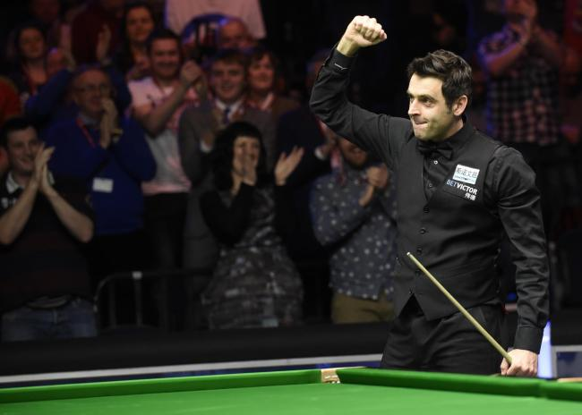 O'Sullivan was in fine form until the loss. Picture: Action Images via Reuters