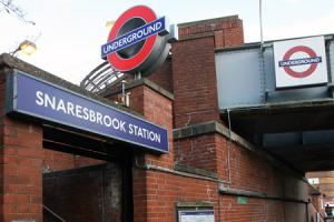 Police are still struggling to find the man who stabbed someone at Snaresbrook Station in October last year
